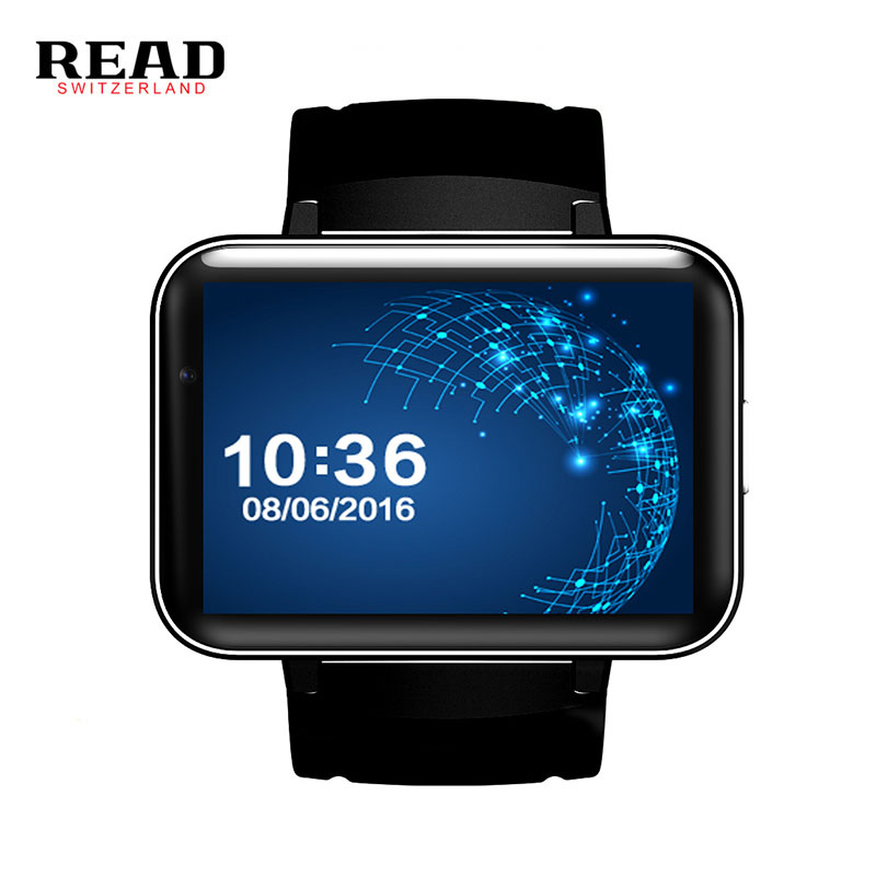 READ DM98 new 900mAh Battery 5.1 android wrist smart watch GPS wifi GSM BT video player Sleep Tracker support for Whatsapp smart baby watch q60s детские часы с gps голубые