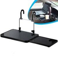 Universal Opvouwbare Auto Truck Laptop Stand AirDesk Autostoel/Stuurwiel Netbook Lade Tafel Voedsel/bekerhouder/Mounts