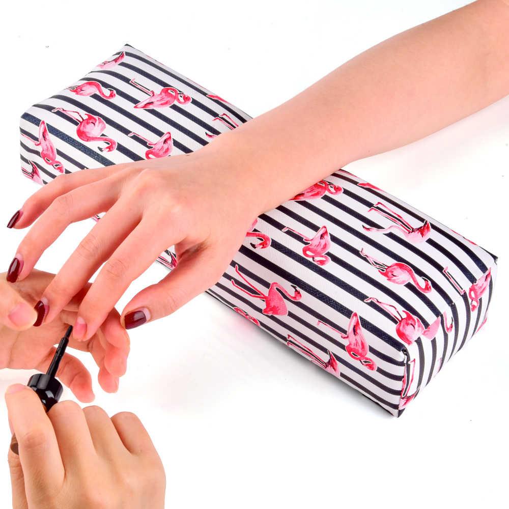 Zachte PU Nail Art Hand Kussen Kussen voor Arm Rest Manicure Salon Hand Rust Kussen Kussen Behandeling Manicure Salon Accessoires