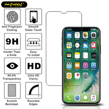 Tempered glass 2.5D screen protector for iphone 7 half screen protection for iphone 4 5 6 6s plus 7 7 plus 8 8 plus X glass film стоимость