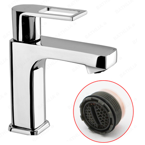 Water Saving Faucet Filter Spout Hidden Faucet Aerator Male Thread With Coin Slot For Public Female Faucet Spout Nozzle(China)