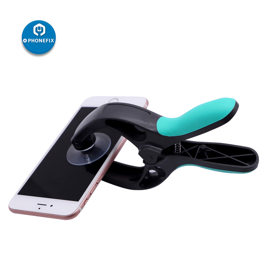 Mobile Phone Repair Tool Prying Tool 4 In 1 LCD Screen Opening Tools Phone Screen Opening Pliers Screwdriver Set Suction Cup
