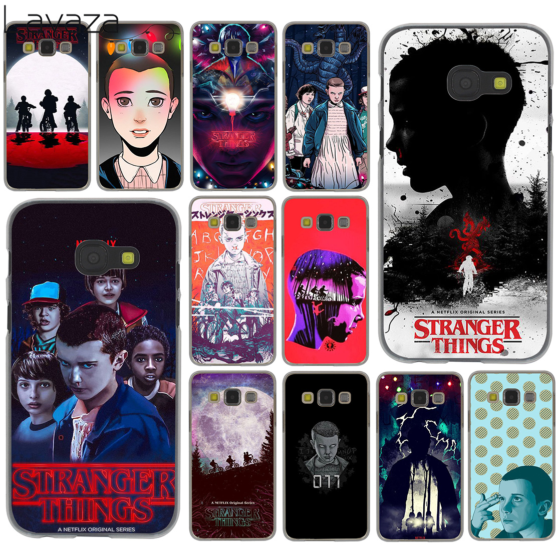Lavaza Stranger Things tv series Hard Case for Samsung Galaxy A3 A5 J3 J5 Prime 2015 2016 2017