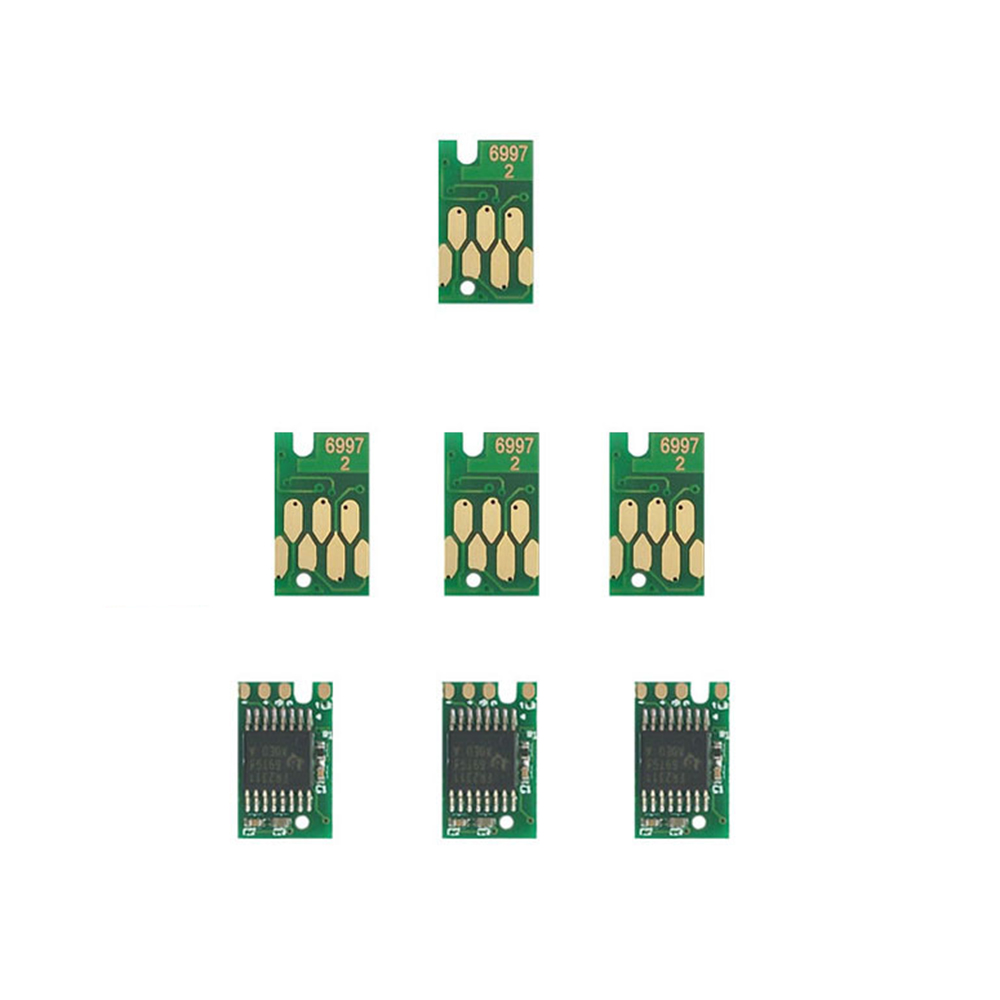 5pcs T6997 Stable Chip for Epson P6000 P7000 one time chip for P8000 P9000 P6080 P9080 P8070 P8080 maintenance tank chip resetter for epson p6000 p7000 p8000 p9000 p6080 p7080 p8080 p9080 cartridge chip resetter