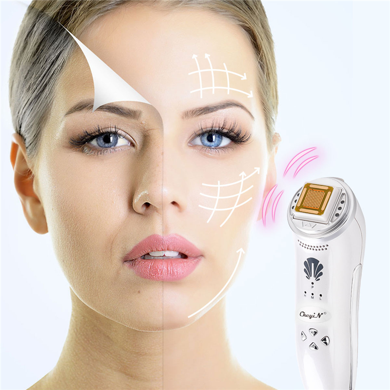 RF Wrinkle Removal Beauty Device Dot Matrix Facial Thermage Anti-cellulite Slim Face Lift Tighten Skin Spa Pore Cleaner Massager