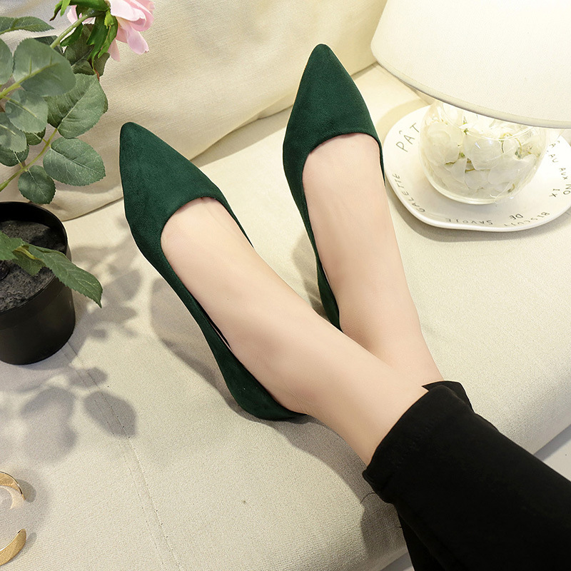 green Beiläufige Schuh Luxus Für Damen Faulenzer 2018 Beige black Flache Frau Spitz Designer Schuhe pink Frauen ngI68qC