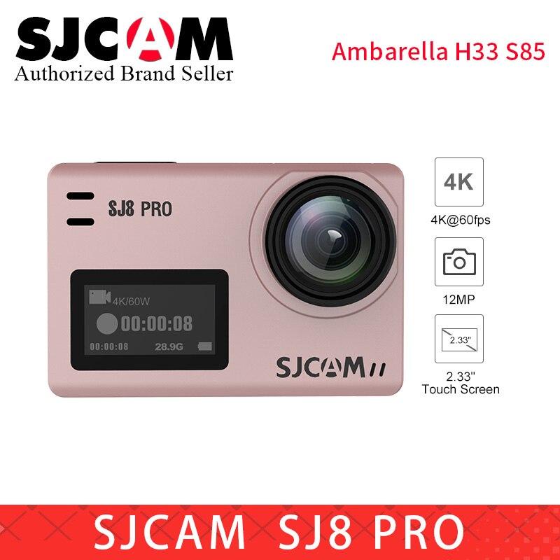 Original SJCAM SJ8 Pro yi 4 k WiFi Action Kamera 1200 mAh HD DVR Camcorder Fernbedienung kamera Wasserdichte Sport DV MINI camara