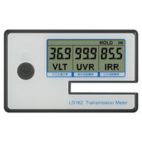 Professional High Quality Solar Film Transmission Meter Digital Window Tint Meter Portable Filmed Glass Tester UV IR Rejection