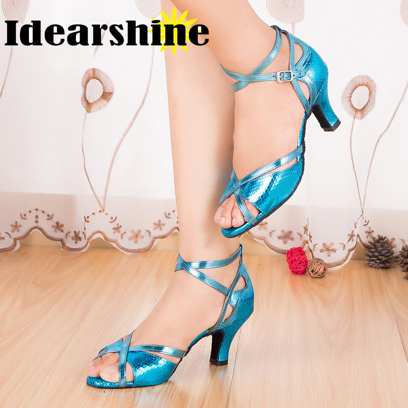 Tango Salsa salle de bal femmes chaussures de danse latine Dancewear chaussures de danse pour les femmes talon haut #6161