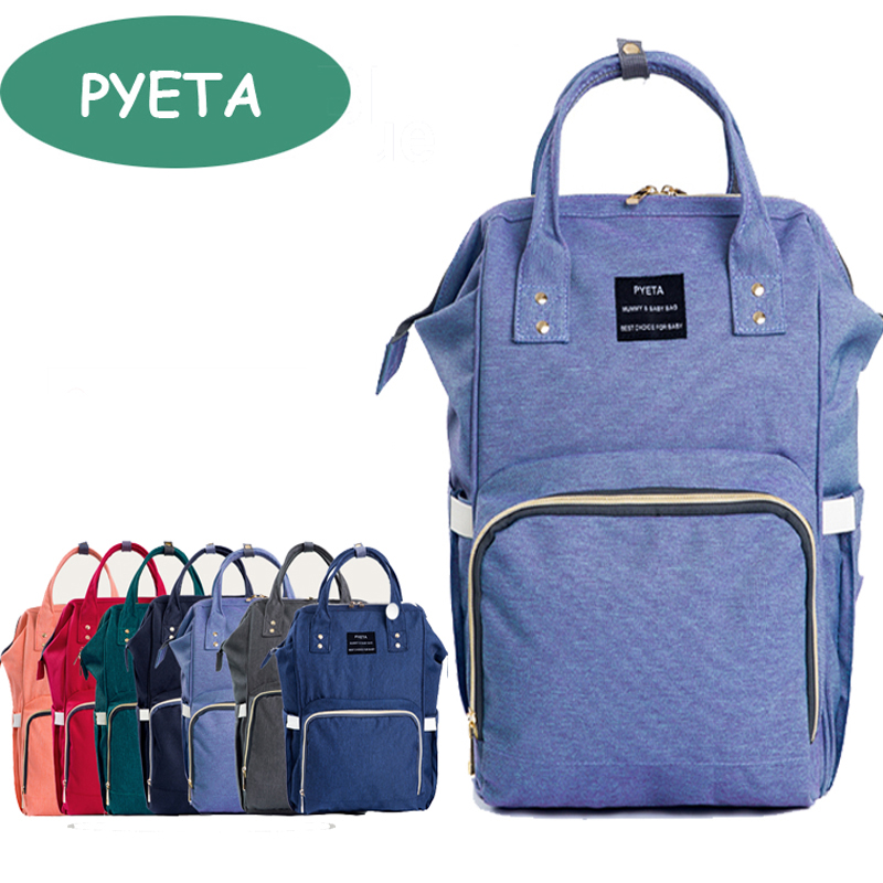 PYETA Fashion Mummy Maternity Nappy font b Bag b font Brand Large Capacity Baby font b