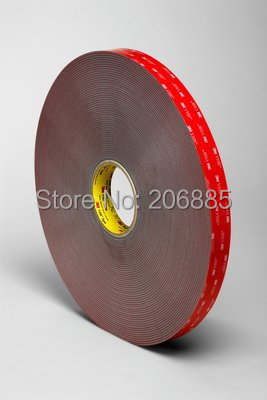 Shipping by DHL/FedEx/UPS/  3M VHB 4991 grey acrylic double sided foam tape 25mmx16.5m /15% OFF if 2pcs/We can offer other size 3m acrylic tape vhb 4991adhesive double sided tape outstanding durability performance 0 5 in 18yd 5rolls we can offer other size