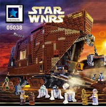 2017 Star Wars Sandcrawler DIY Development Building Brick Model Boys Gift Compatible Legoes 75059