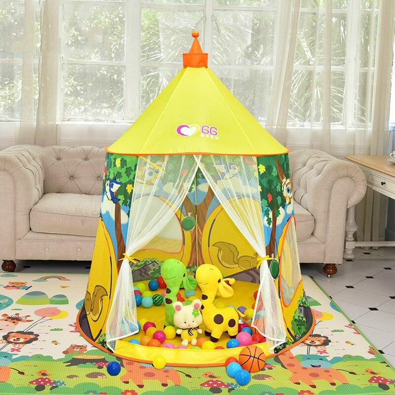 Intérieur Jouet de Bébé Maison Océan Piscine À Balles Jeu Tente Maison de Princesse Chambre Château Enfants enfants jouent tentes intérieur