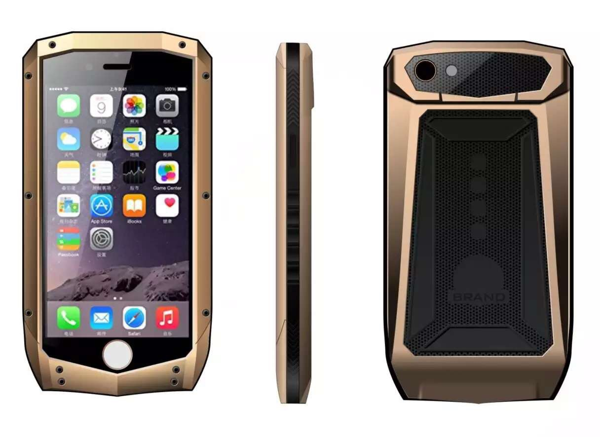 For iPhone 6S Case,Luxury Top Quality Anti Shock / Proof / Water Mobile Phone Protector Cover For iPhone 6 s Capa+Retail Package