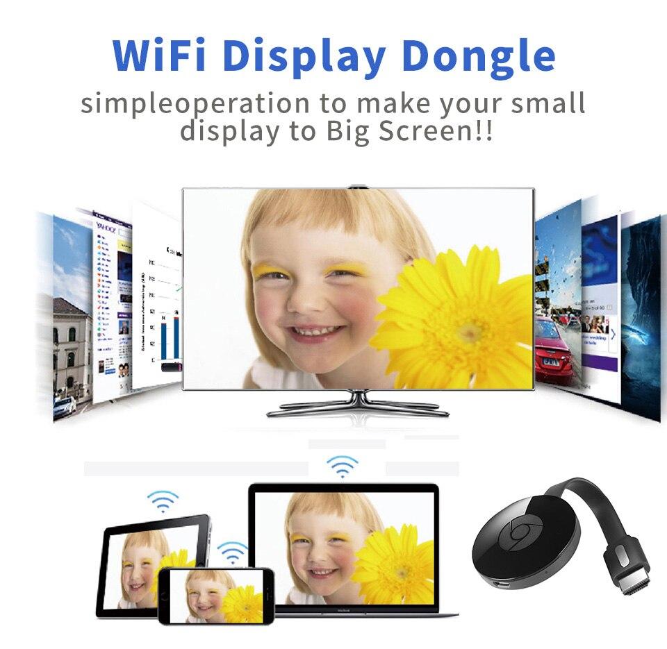 WiFi Display dongle G4 for Google Chromecast 2 for Netflix YouTube Crome Chrome Cast Cromecast for Mirascreen HDTV adapter