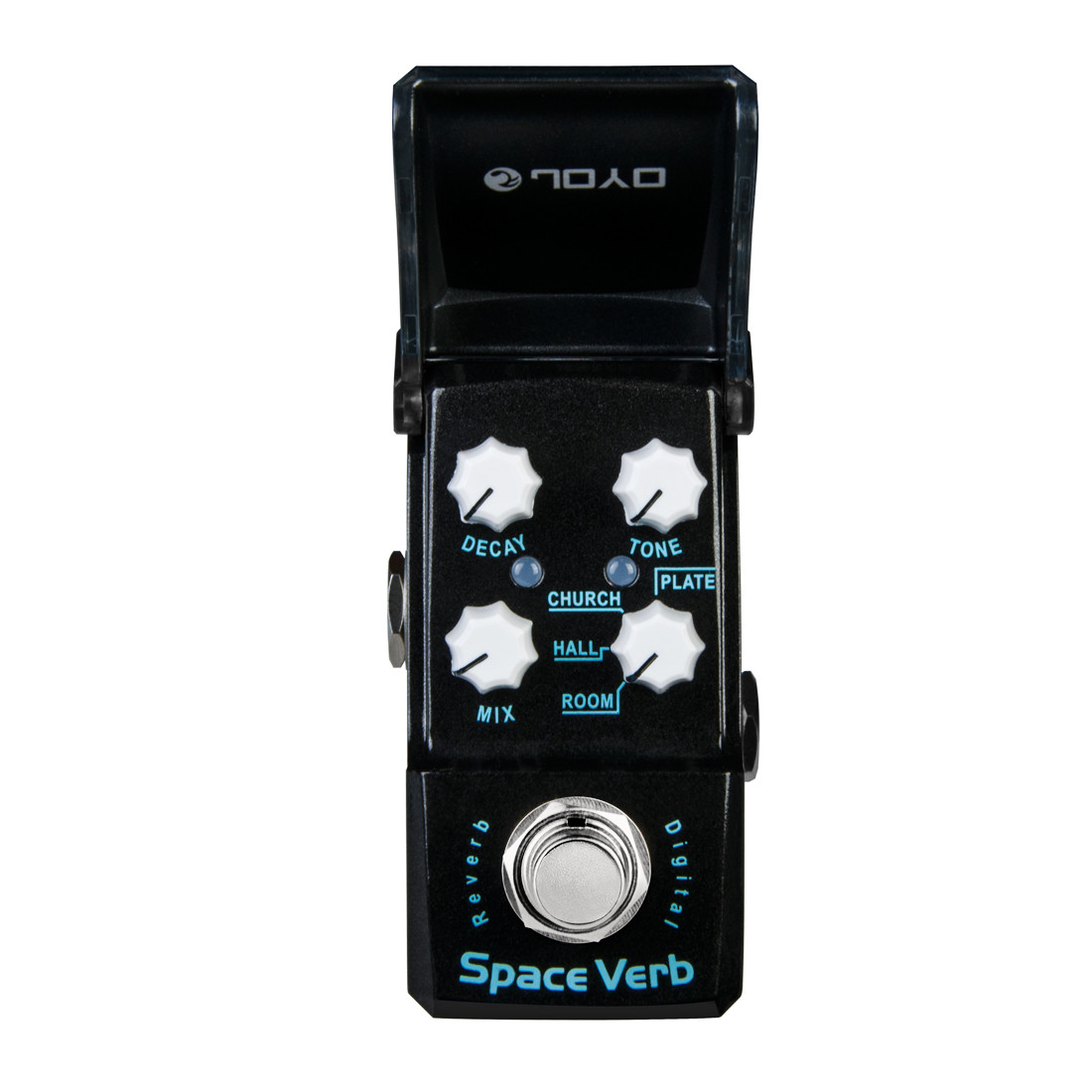 JOYO Space Verb Digital Guitar Effect Pedal True Bypass joyo jf 317 space verb digital reverb mini electric guitar effect pedal with knob guard true bypass