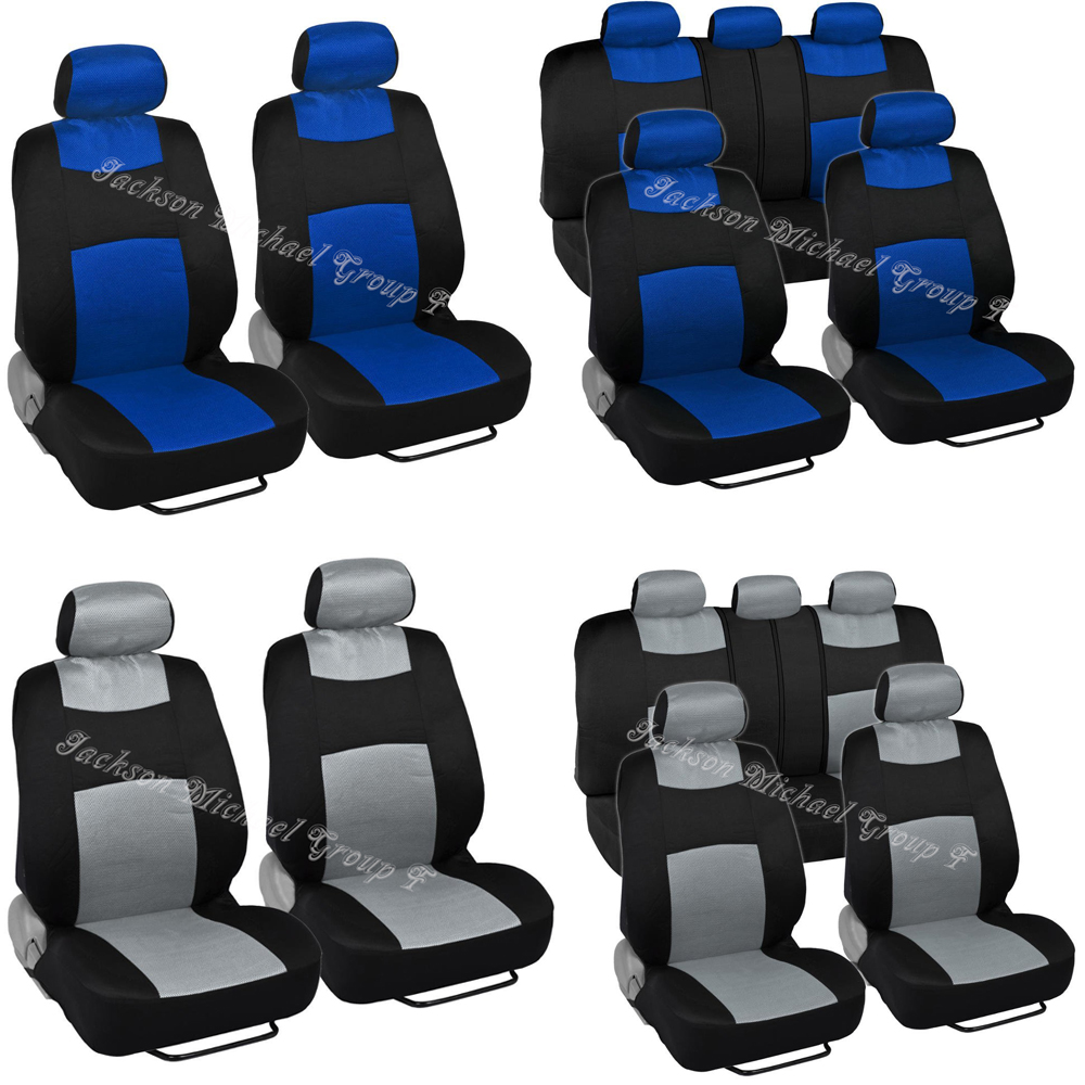 9 PIECE NAVY BLUE SPORTS SEAT COVERS  Vauxhall Astra Corsa Insignia Adam