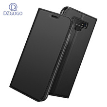 DZgogo For Samsung Note 9 Case Luxury PU Leather Note9 Case Flip Card Slot Cover Case For Galaxy Note 9 Phone Shell Coque Fundas protective pu leather flip open case w card slot for samsung galaxy note 3 n9000 black