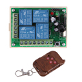 AK-RK04S-12+AK-BF04 DC 12V 6mA 433MHz Wireless Remote Control Switch For Control All Electrical Appliances At Home