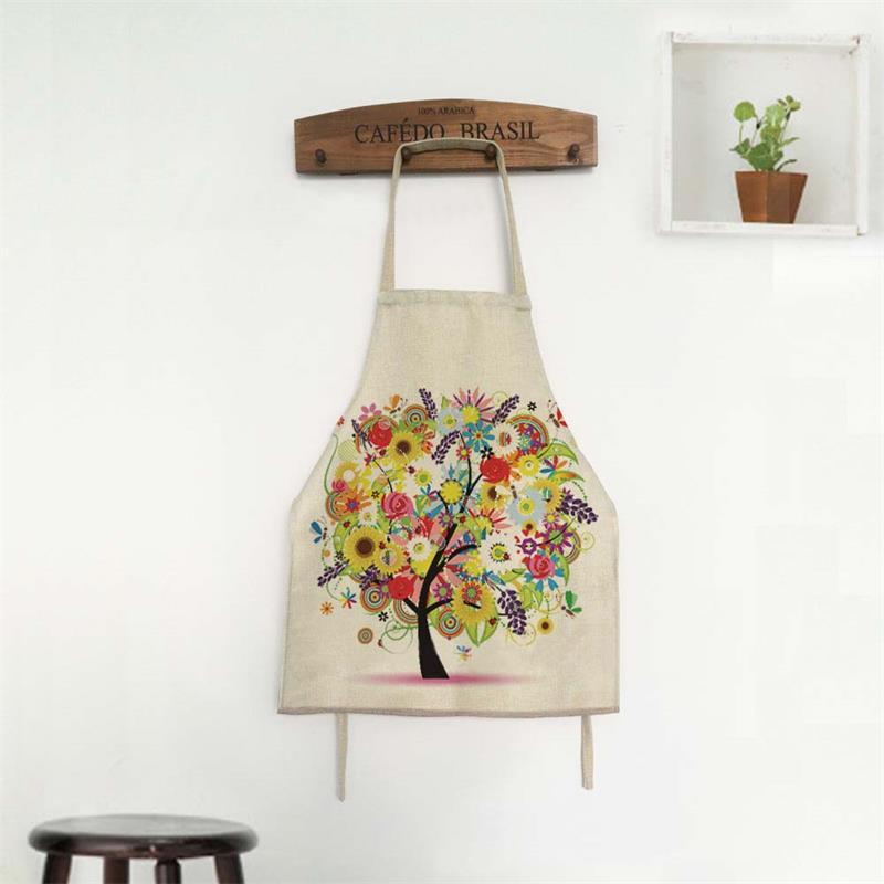 albero fortunato disegno grembiuli da cucina per adulti one size tablier cucina laboratorio adulte cinese grembiule