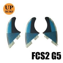 FCSII M size G5 Fin surfboard fins FCS2 Fibreglass Honeycomb
