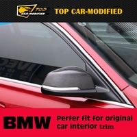 Free shipping For BMW 5GT Series Gran Turismo carbon fiber rearview mirror cover