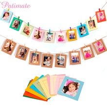 PATIMATE Picture Photo Frame Banner Wedding Decoration Birthday Party Wall Rope Clip Supplies