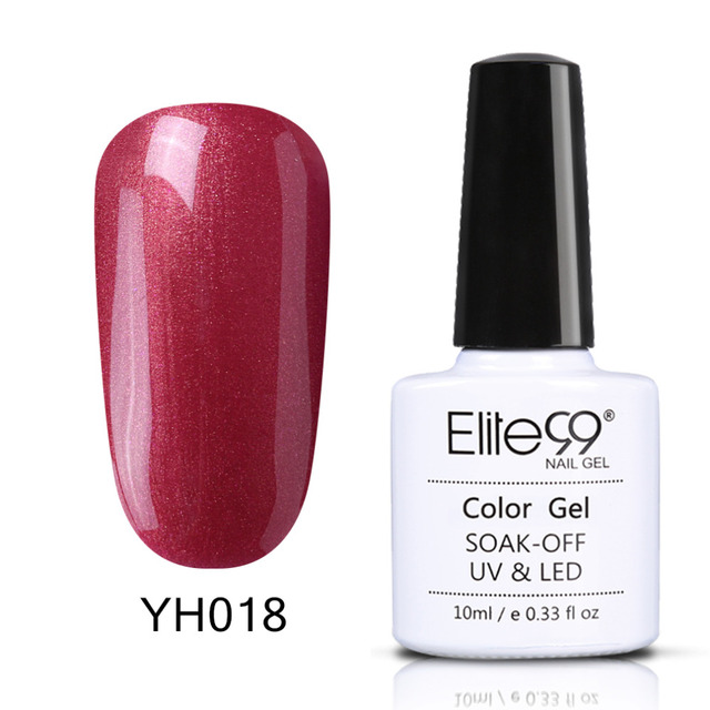 Elite99 36 Farben Gel Nagellack LED UV Gel Lange-lasting Soak-off Gel Lacke Schönheit Magenta Serie gel Lack Nägel Polieren
