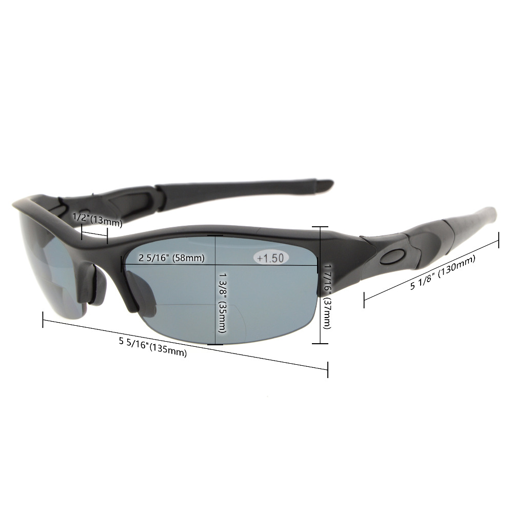 Image 5 - TH6166 Bifocal Eyekepper TR90 Unbreakable Half Rim Sports Bifocal Sunglasses Reading Glasses +1.0/+1.5/+2.0/+2.5/+3.0-in Men's Reading Glasses from Apparel Accessories