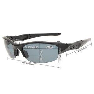 Image 5 - TH6166 Bifocal eyekepper TR90 irrompible media llanta deportes gafas de sol bifocales gafas de lectura + 1,0/+ 1,5/+ 2,0/+ 2,5/+ 3,0