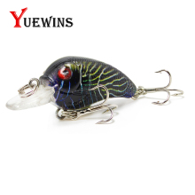Купить с кэшбэком  YUEWINS CrankBait Fishing Lure Topwater Minnow iscas artificiais 4.5cm 4.2g Wobblers Bass Hard Bait Carp Fishing Tackle TP33