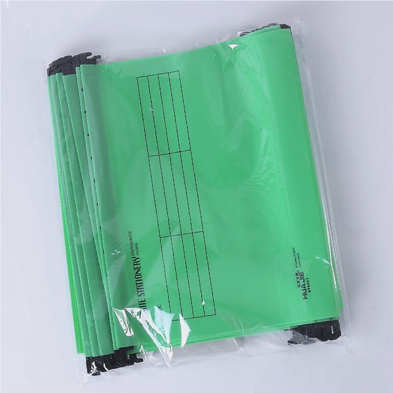 В виде бабочек, новинка, 12 шт./упак. A4 Экстра Ёмкость усиленный подвесных папок быстро подвесной зажим категория теги быстро найти для Бизнес для офиса - Цвет: Зеленый