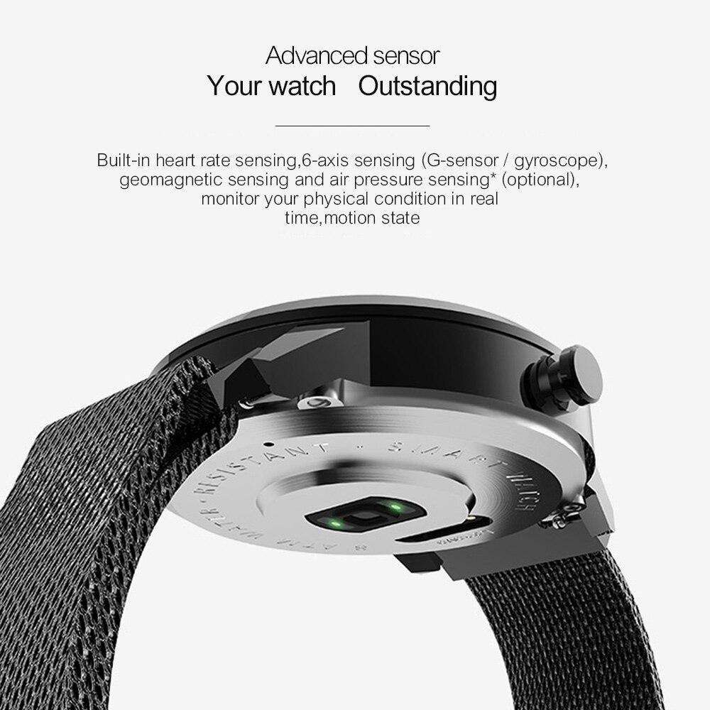 Lenovo Watch X Mechanical Smart Watch OLED Screen Sapphire Glass Smartwatch 45 Days Standby 80 M Waterproof Heart Rate Monitor