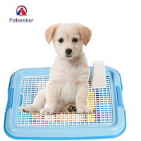 Mesh Pet Dog Toilet Tray Dog Lattice Potty Doggy Pee Training Toilet Pet Product For Puppy