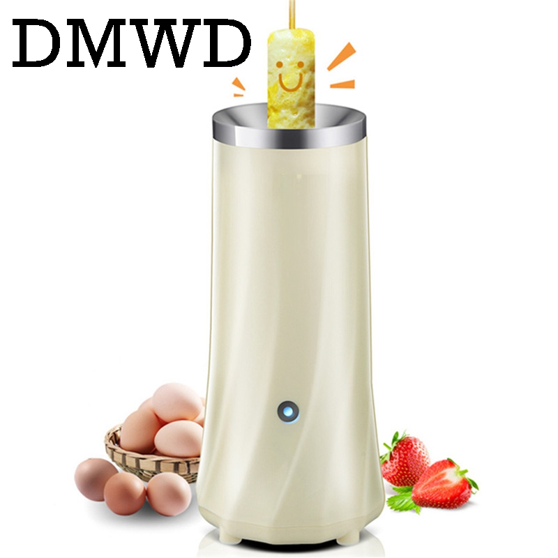 DMWD Automatic Eggs Roll Maker Mini Electric Egg Boiler Cup Omelette Breakfast Machine Cooking Tools Eggmaster Sausage Burrito