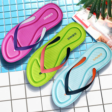 Gienig 2017 Slippers summer fashion soft - bottom Korean version of the casual sandals flip-flops for comfort