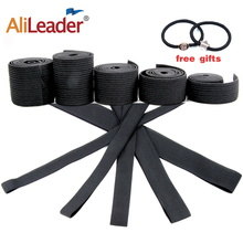Alileader Cheap Elastic Band For Wigs Accessories High Quality Wig Making Materials Caps Closure wig Black Color