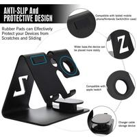 cell phone HobbyLane 2 in 1 Cell Phone Watch Stand Holder For Nintend Switch iPhone iWatch (38 mm & 4 mm) For iPad Tablet(4-13 inch) d20 (2)