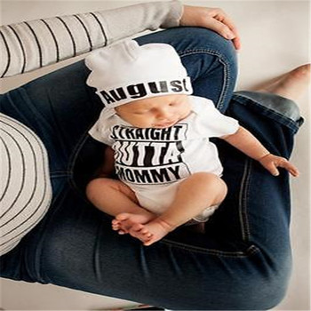 Hot sale White Newborn Baby Girl Boy Clothes Bodysuit Romper Jumpsuit Outfits One-pieces 0-18M 5