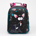 Girls Cartoon Cat Cute Bear Boys Racing Car Orthopedic Backpacks Children School Bags Waterproof School Backpack Mochila Escolar
