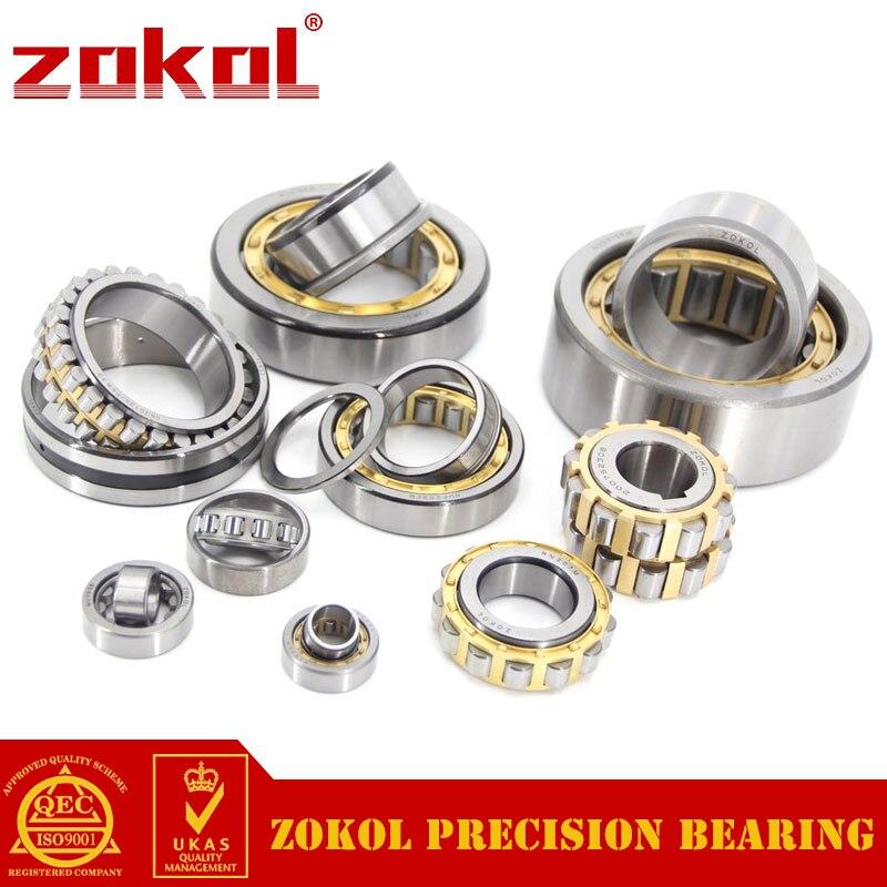 ZOKOL bearing N2220EM 2520EH Cylindrical roller bearing 100*180*46mm zokol bearing nj1036em 42136eh cylindrical roller bearing 180 280 46mm