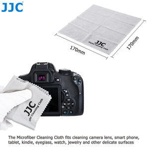 Image 3 - JJC Camera Lens Cleaning Pen Air Dust Blower Fiber Cloth 3 in 1 Cleaning Kit for Nikon Sony Olympus Canon DSLR Sensor LCD Clean