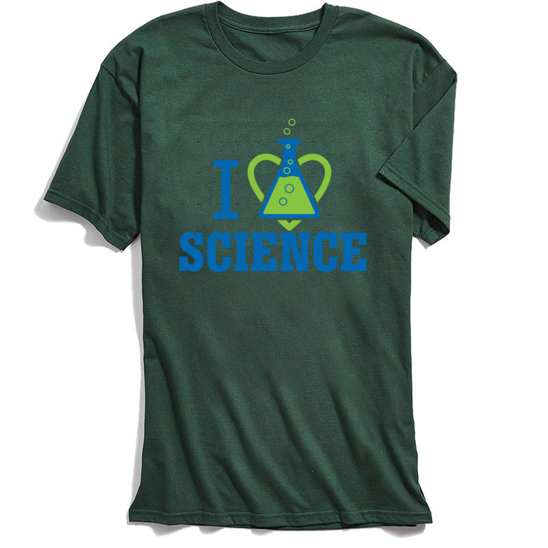 School Guys Tshirt New Coming Men 39 s Tops Tees I LOVE SCIENCE Letter T Shirt Summer T Shirt 100 Cotton Unique Students Camisa in T Shirts from Men 39 s Clothing
