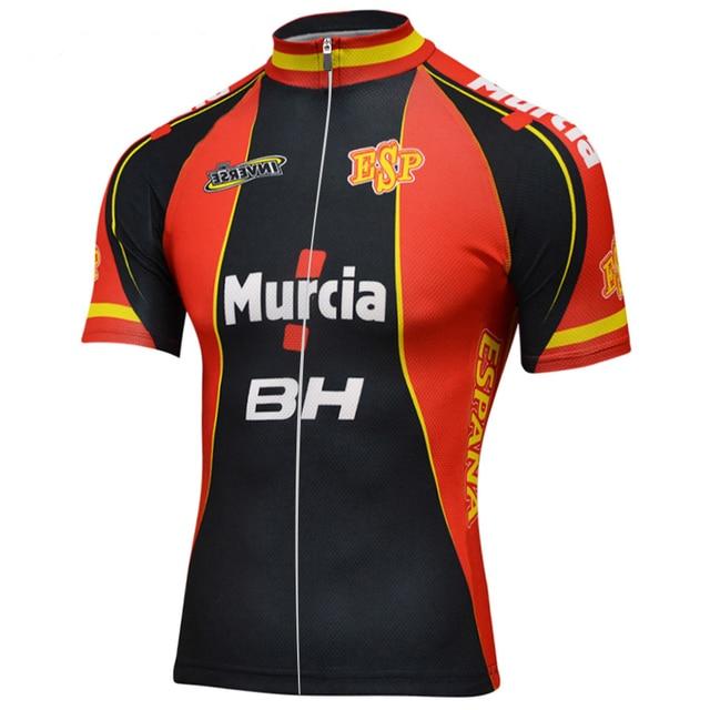 Camiseta deportiva ciclismo ropa ciclismo España Clásico hombre ropa corta  bicicleta transpirable al aire libre mtb 8ba32b124b6d8
