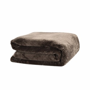 Image 5 - CAMMITEVER Luxury Blankets Mesh Flannel Blanket Thickened Coral Fleece Soft Luxurious Solid Blanket for Sofa/Bed Soft Throw