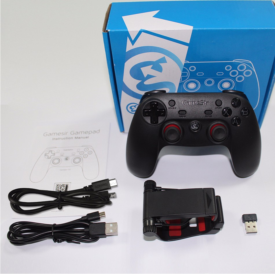 GameSir G3s Gamepad for PS3 Controller Bluetooth&2.4GHz snes nes N64 Joystick PC for Samsung Gear VR Box for SONY Playstation 2 24