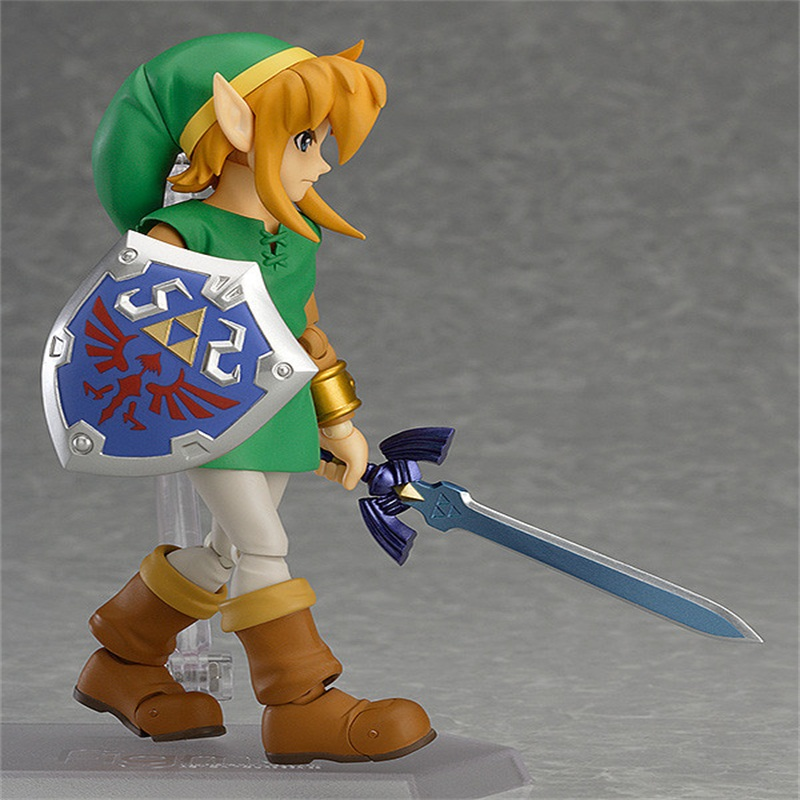 New arrival Figma 284 The Legend of Zelda PVC Figure Action Model Toys Doll Gifts For Children anime the legend of zelda 2 a link between worlds link figma 284 pvc action figure collectible model kids toys doll 10 5cm