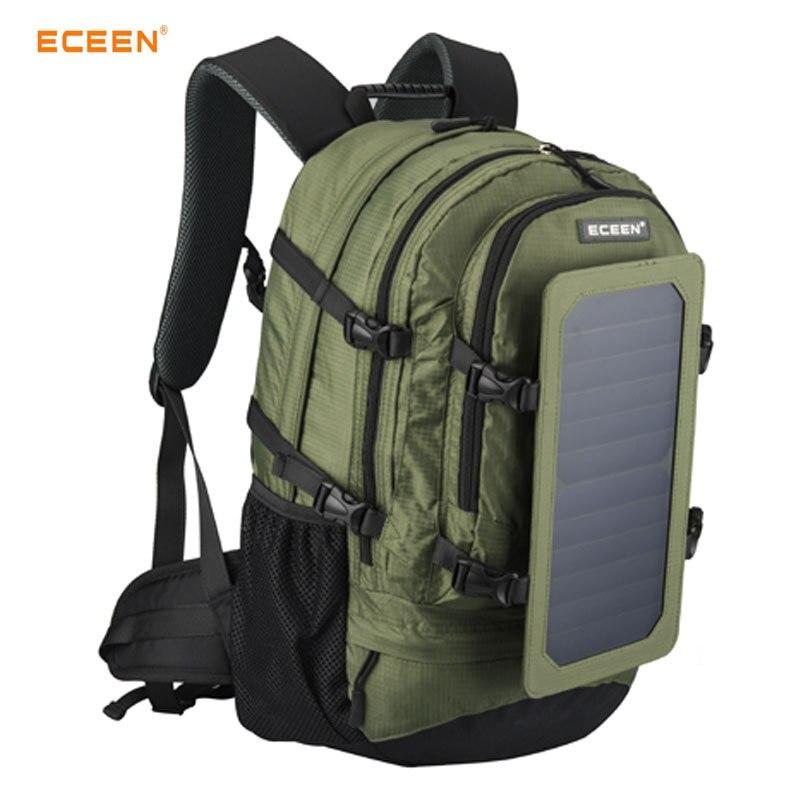 Abay 2019 nouveau sac à dos solaire de Sports de plein air voyage alpinisme sac de randonnée chargé sac à dos pour hommes et femmes