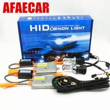 AFAECAR 12 v 55 kit w H4 Биксеноновая h4 h/l 4300 K 6000 K 8000 K ксеноновая лампа