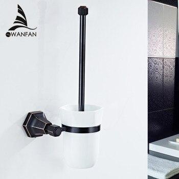 Sikat Toilet Eropa Kuningan Berlapis Emas Produk Kamar Mandi Toilet Sikat Pembersih Sikat Kamar Mandi Aksesoris 93009